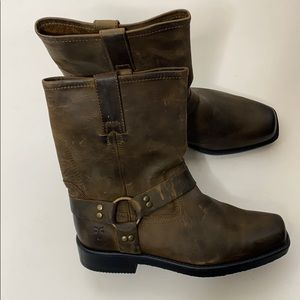 Frye Youth Harness Boots Size 3.5